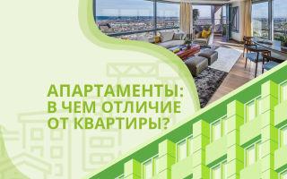 Апартаменты и квартира — в чем разница