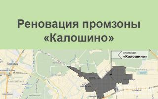 Реновация промзоны «Калошино»