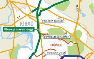 Юго-Восточная хорда Москвы — какие варианты?