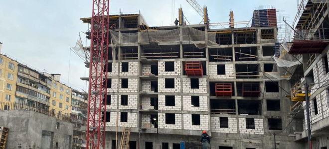 Дом на 230 квартир строят в Северном Бутове по программе реновации