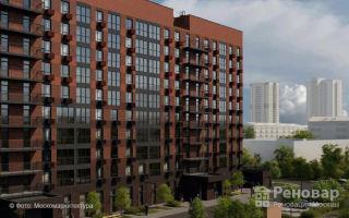 В Люблино будет построен 10 этажный дом с кирпичным фасадом по программе реновации