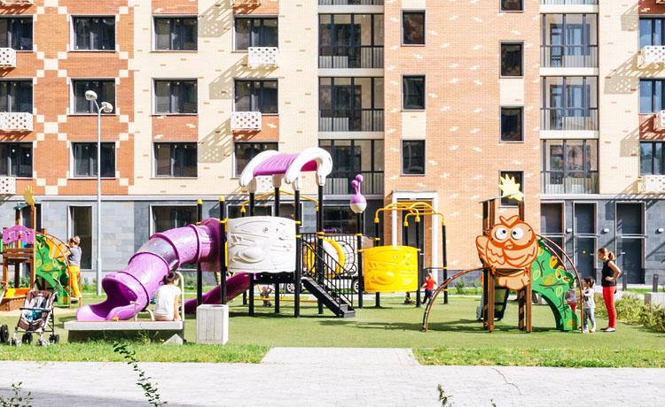 Детская площадка по программе реновации