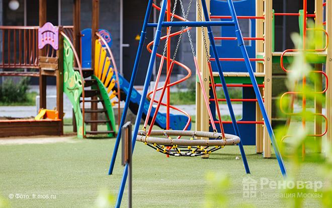 Детские площадки по реновации