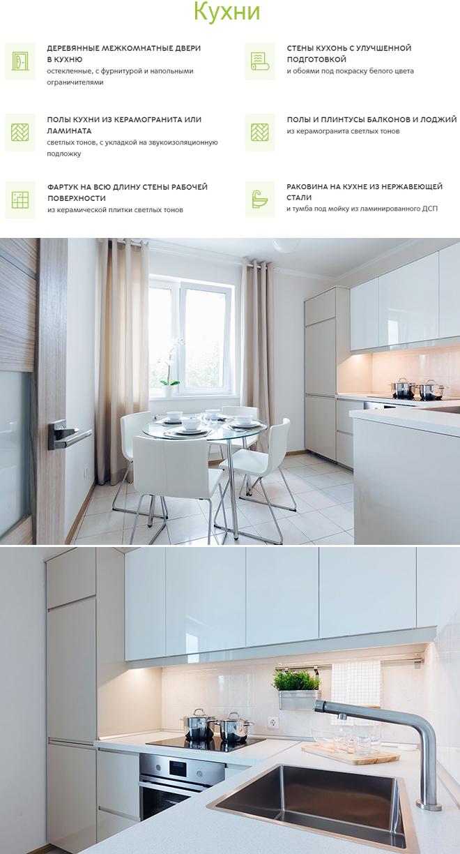 Внутренняя отделка кухни