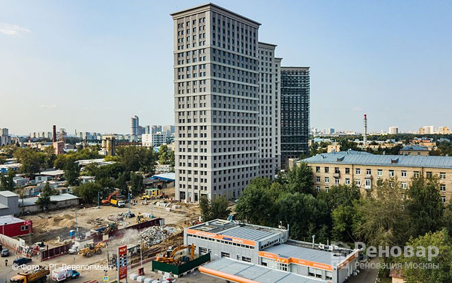 ЖК Родной город, Октябрьское поле, Щукино, СЗАО
