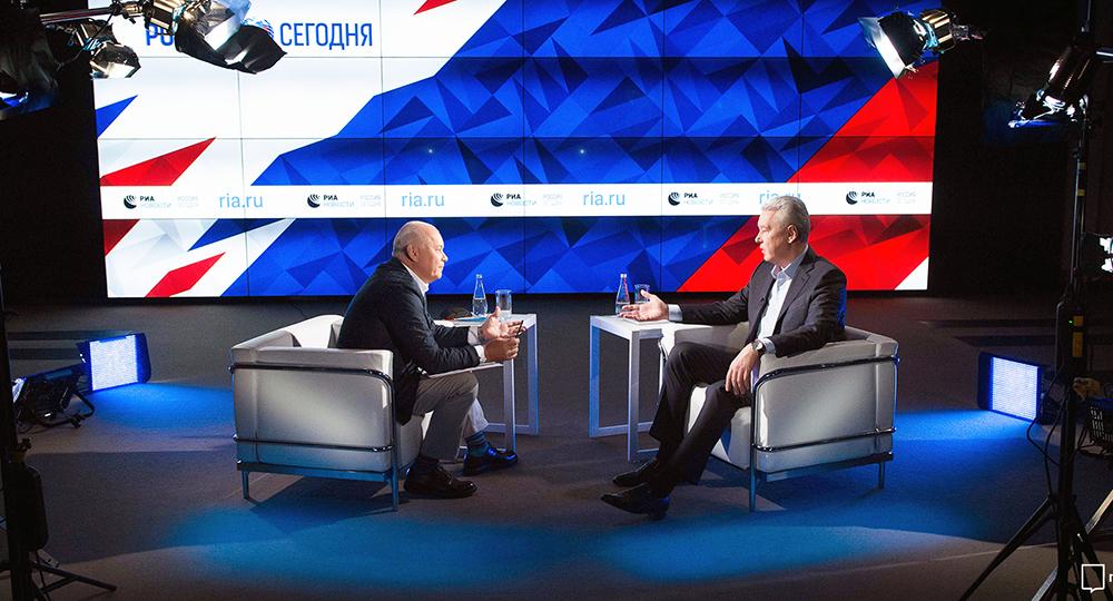 Сергей Собянин в новостях о реновации