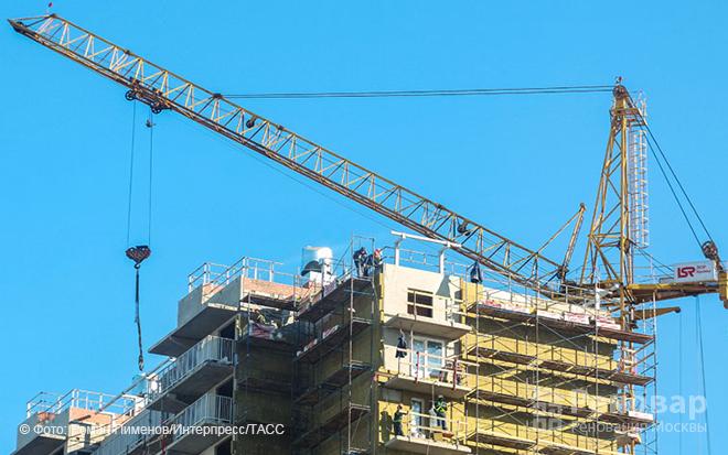 900 тыс. кв. м. жилья построят в Москве в 2018 году за счет бюджета города