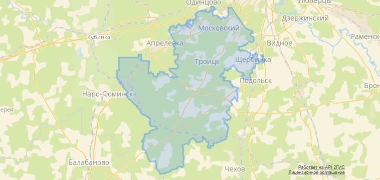 Карта реновации ТиНАО новости