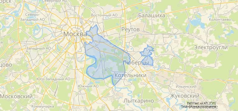 Карта реновации ЮВАО новости
