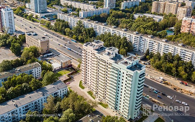 Щелковское шоссе - дома по реновации