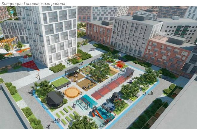 Проект Головинского района, Архитектурное бюро Асадова