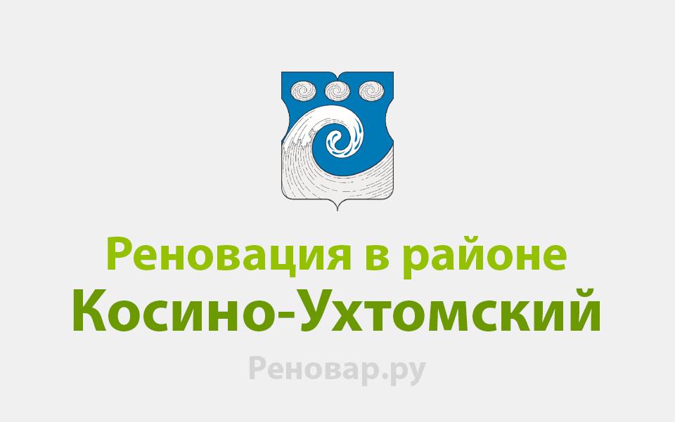 Реновация района Косино-Ухтомский