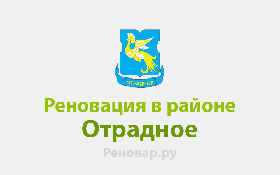 Реновация района Отрадное