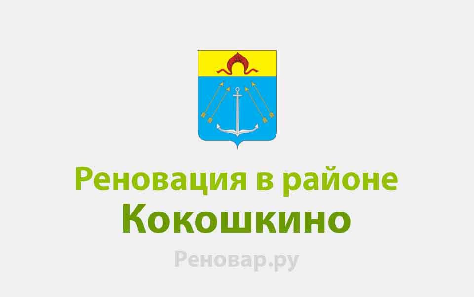 Реновация района Кокошкино
