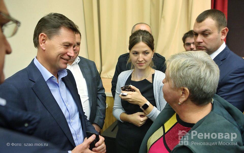 Префект СЗАО Алексей Пашков