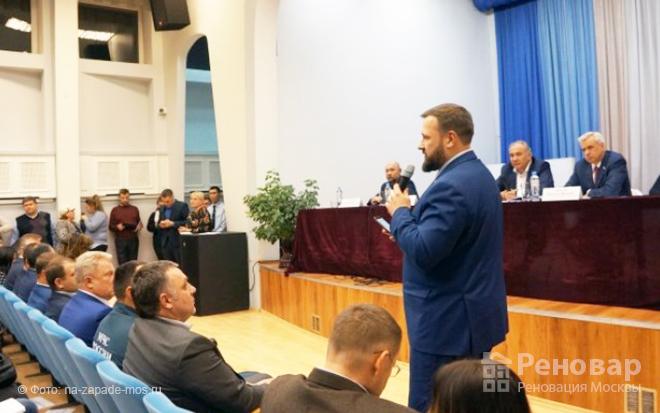 Встреча жителей Проспекта Вернадского с префектом ЗАО