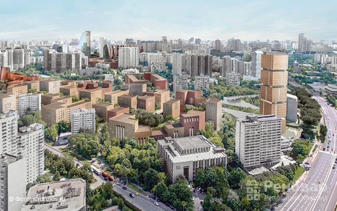 Проект реновации Проспекта Вернадского