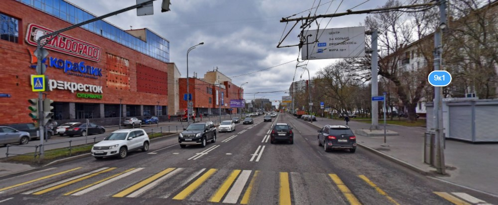 Реновация на улице Шереметьевская