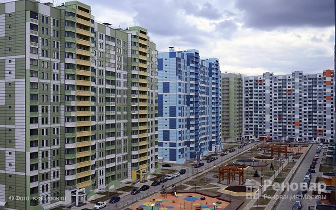 В СЗАО построят 4 дома по реновации в 2019-2021 годах