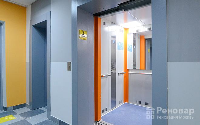 лифт нового дома