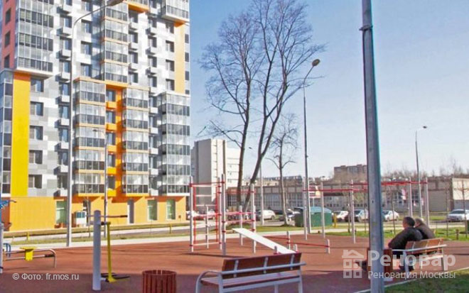 Новые школы в 5-ти районах Москвы  в рамках реновации