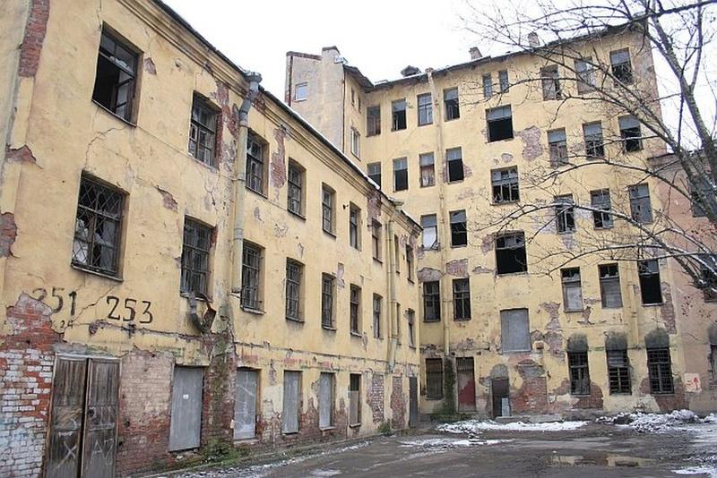 Дома под снос Лиговский район СПб