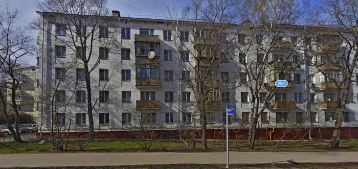 Дом под снос Москва, ул. Кастанаевская, 32 к.1