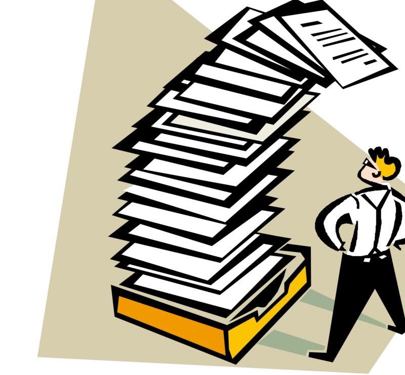 список, кипа документов