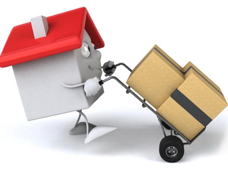 Переезд, дом, коробки
