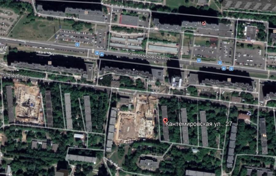 Стартовая площадка Кантемировская 27