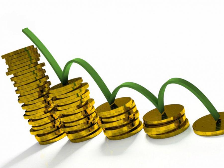 Рефинансирование ипотеки, монеты в столбик по убыванию