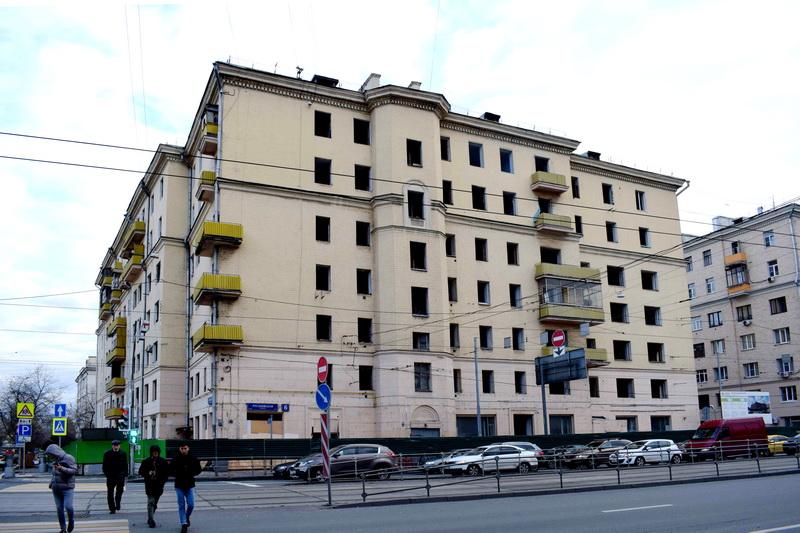 Реновация Русаковская 6 под снос